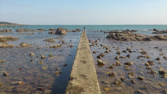 อินเตอร์คอนทิเน็นทอล ควิงดาว โฮเต็ล: Clear water - nice and quiet