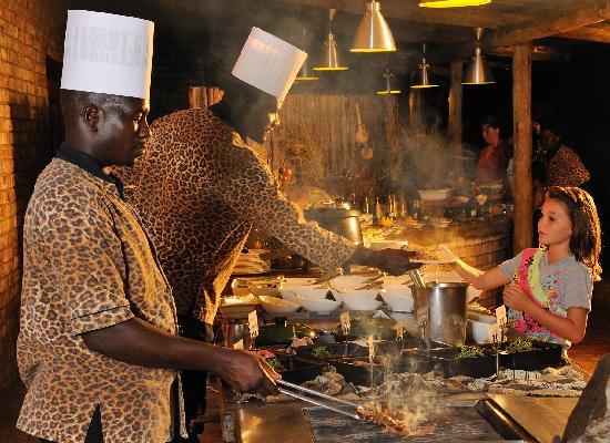 Etosha Village Buffet Dinner grill