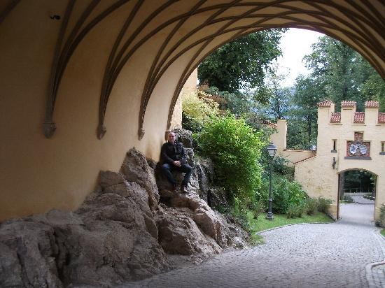 Schloss Hohenschwangau: Arch