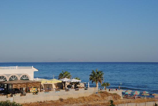Rethymno Palace: Vue sur mer chambre 313