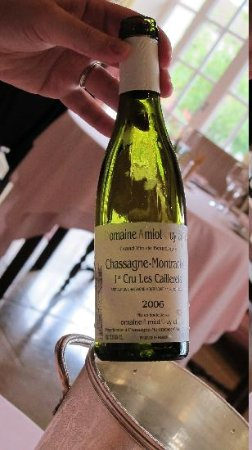 Le Montrachet: Fantastic wine from the region
