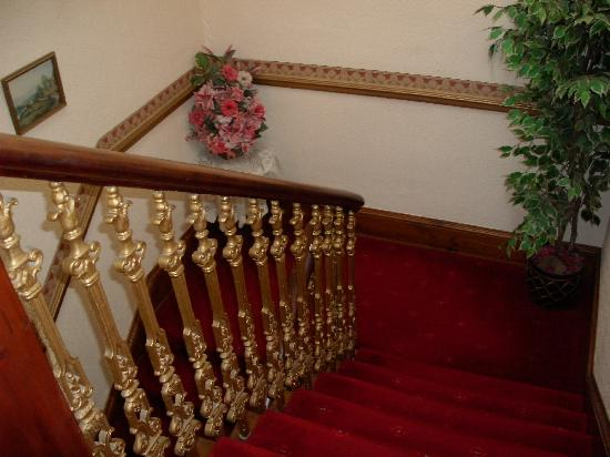 Ardross and Glencairn Guesthouse: Stairway to our second floor room