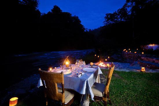 Pacuare Lodge - Romantic Dinner
