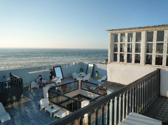 La maison des artistes: La vue d'une des terrasses