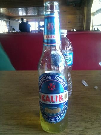 Seafood Haven : What's left of my nice cold Kalik