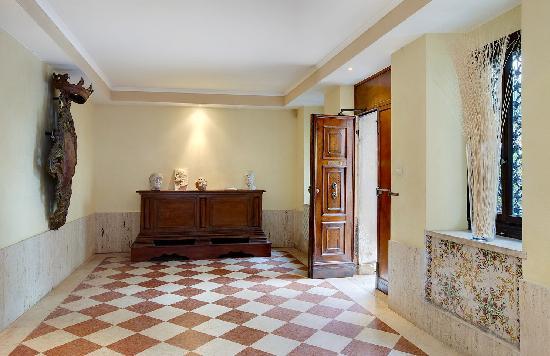 Ca' Angeli: ground floor