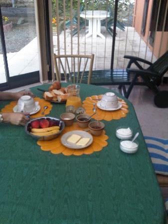 Chambres d'hotes Rabillon: petit déjeuner