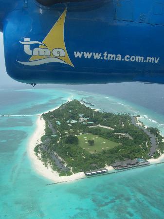 คุรีดุ ไอแลนด์ รีสอร์ท แอนด์ สปา: L'île est réellement comme on la voit sur le site de l'hôtel