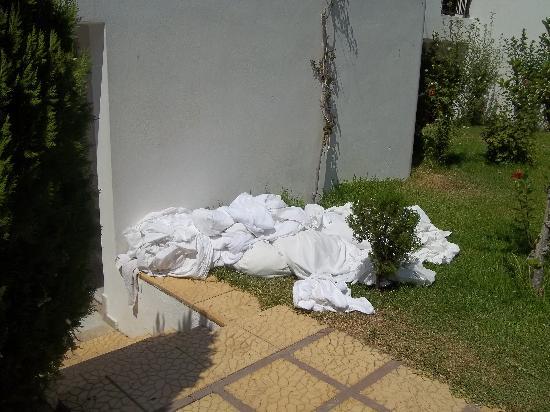 Stella Maris: cambio delle lenzuola