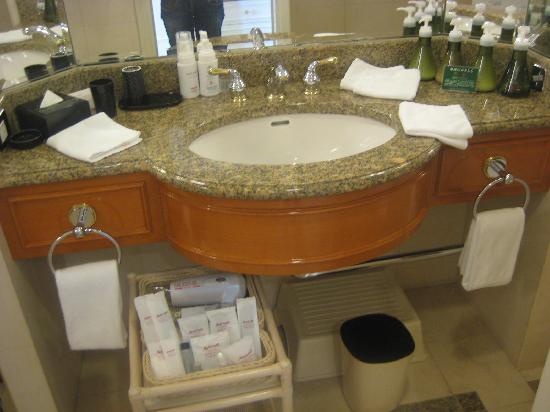 โรงแรมมาริออท นาโกย่า: 洗面所&アメニティ