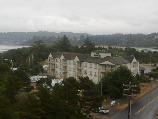Motel 6 Newport: view from the bridge