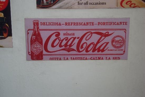 """Cafe Bar 1886: Didn't know Coke was """"fortifying"""""""