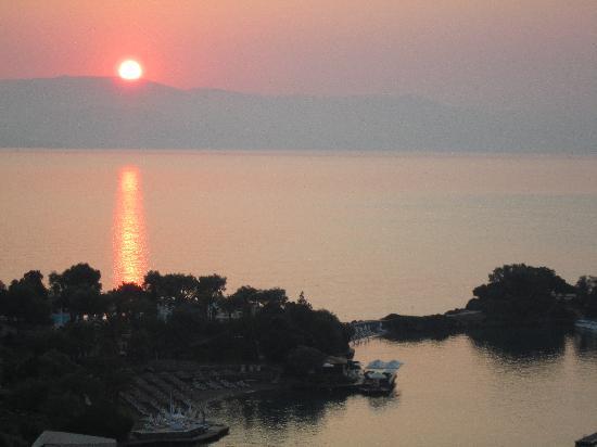 Grecotel Eva Palace: lever de soleil
