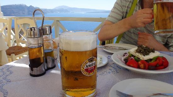 Seagull Restaurant: ビールはたっぷり500ml