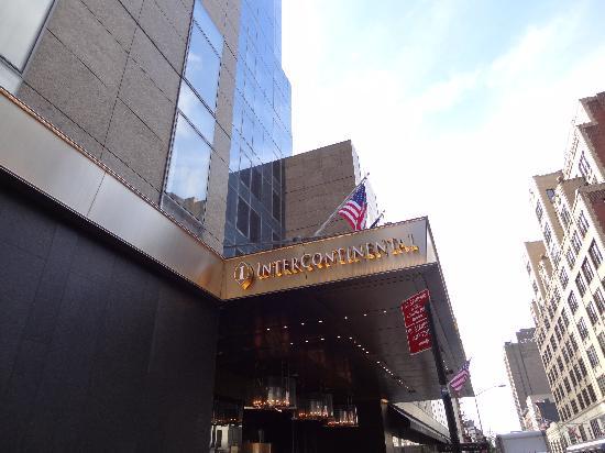 อินเตอร์คอนติเนนตัล นิวยอร์กไทม์สแควร์: Hoteleingang