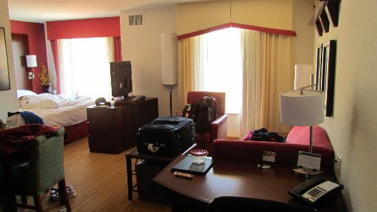 Residence Inn Glenwood Springs: Living area