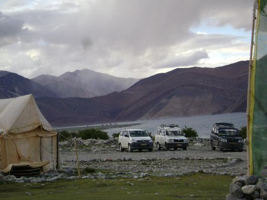 Camp Water Mark: Parking plot