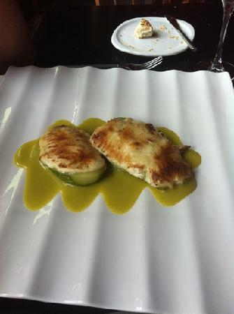 Restaurante El Rincon de Moraga: calabacines rellenos