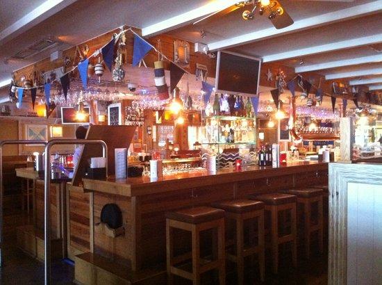 Blue Bar: The bar with Dublin Flags