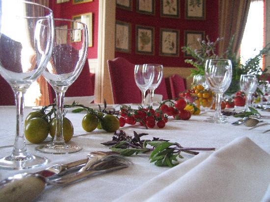 Chateau de la Bourdaisiere: La salle à manger