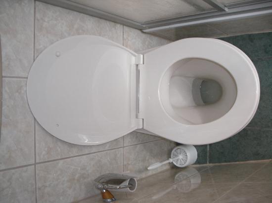 Hotel Seeschloss: Das WC war sauber .