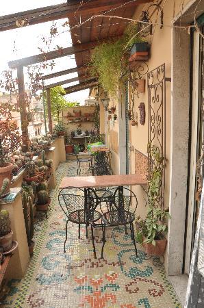 Abitazione Pigneto: Balcony