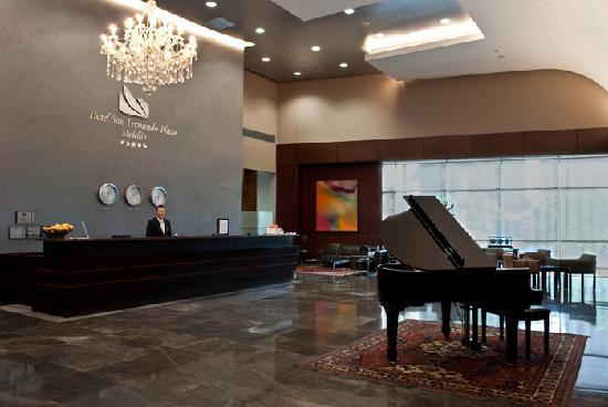 Hotel San Fernando Plaza Medellin: Recepción Hotel San Fernando Plaza