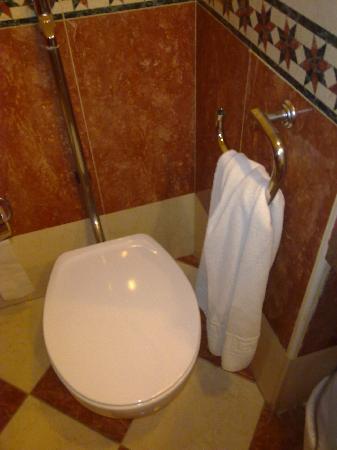 Hotel Best Tenerife: que mal situada esta el toallero