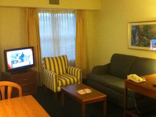 Residence Inn Raleigh-Durham Airport/Morrisville: Living room
