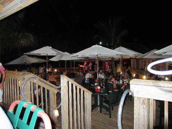 TradeWinds Island Grand Resort: jimmy b's great music and atmosphere.
