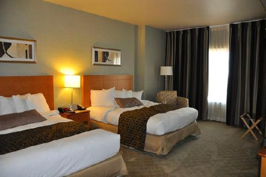 แพลทินัม โฮเต็ล แอนด์ สปา: 2 Queen beds