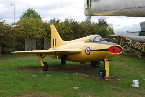 Midland Air Museum: Bouton Paul P111a delta wing research aircraft
