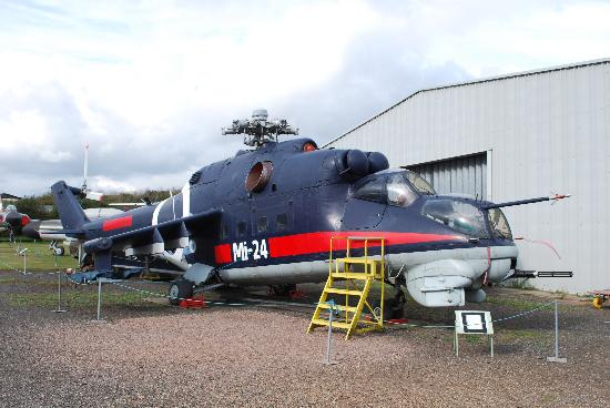 Midland Air Museum: The incredible Russian Mil Mi-24D Hind attack helicopter