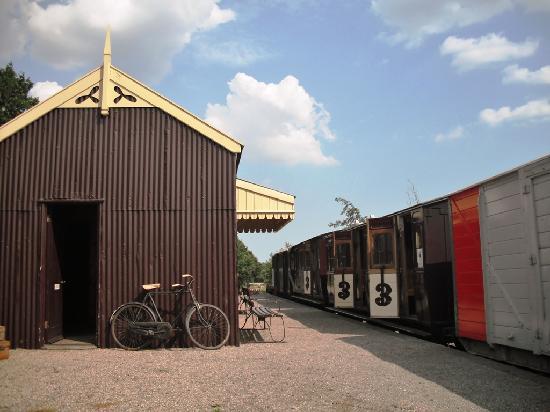 Mid Suffolk Light Railway Museum: Brockford Station - Mid Suffolk Light Railway