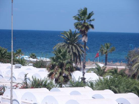 El Mouradi Club Kantaoui: View from hotel balcony.