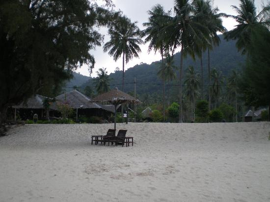 Mirage Island Resort: View from the beach