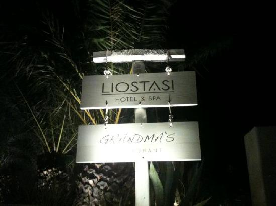 Liostasi Hotel & Suites: Liostasi Spa