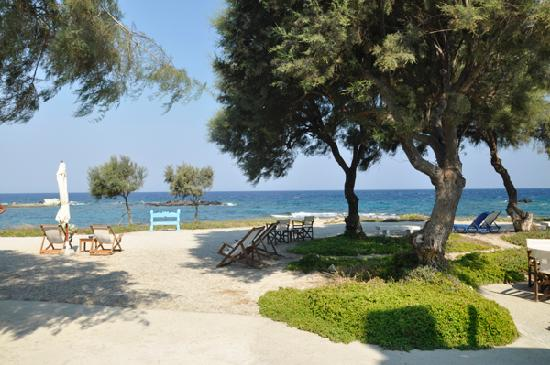 Nefeli Sunset Studios: View from the grounds across the Aegean