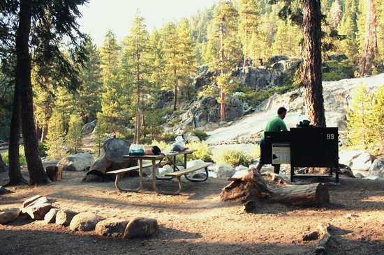 Lodgepole Campground: Campsite #99