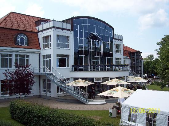 Seehotel Grossherzog von Mecklenburg: Hinteransicht