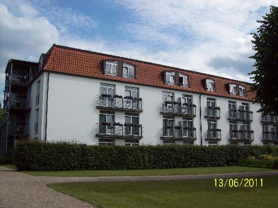 Seehotel Grossherzog von Mecklenburg: Keine Doppelbalkon, den telen sich zwei Zimmer