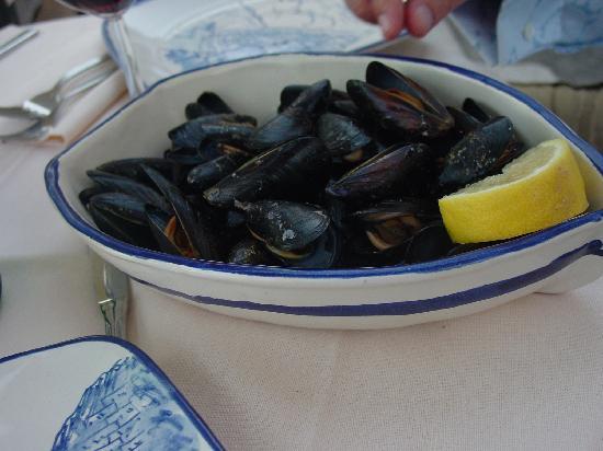 Bruno: Mussels...yummmmm
