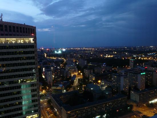 โรงแรมอินเตอร์คอนติเนนตัลวอร์ซอว์: Room view - 36th floor