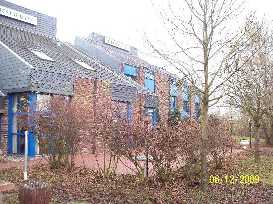 Hotel Brandenburger Hof: Hotel von hinten
