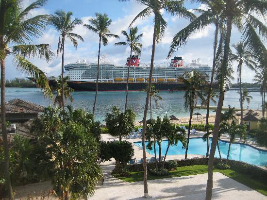 บริทิชโคโลเนียล ฮิลตัน แนสซอ: The wonderful view from our room