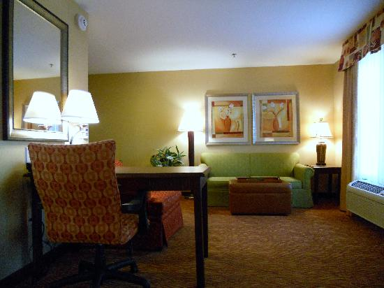 Homewood Suites by Hilton, Medford: King studio living area