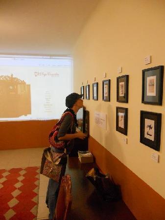 Olga Querida: expo en el living