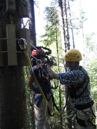 Bretton Woods: Getting hooked up for a zip!