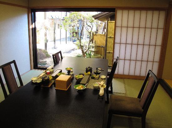 โกซานเต อุบูยะ: our personal dining room