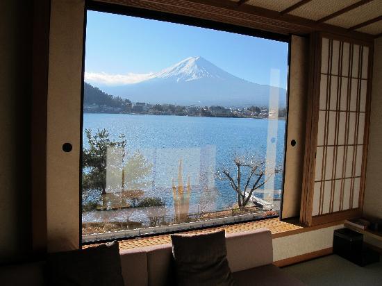 โกซานเต อุบูยะ: view from our room